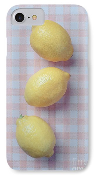 Three Lemons IPhone Case by Edward Fielding