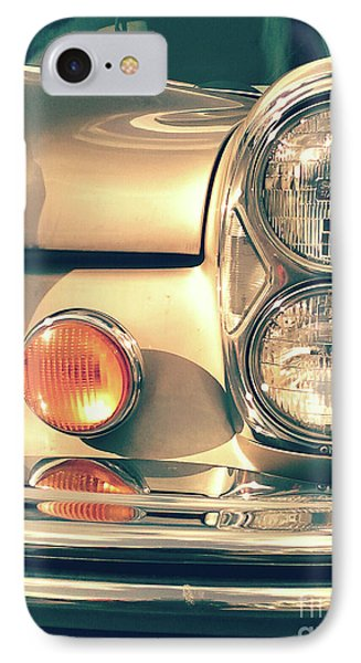 IPhone Case featuring the photograph Three Lights - Gold by Rebecca Harman