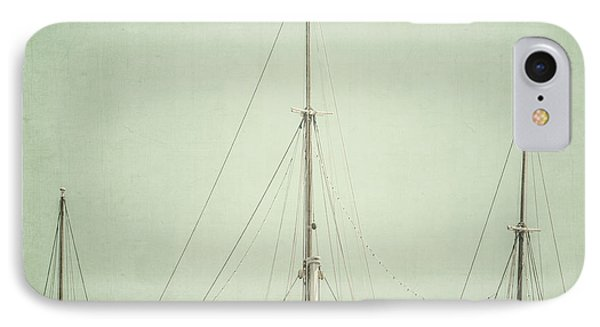 Three Masts Phone Case by Lisa Russo