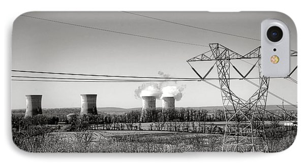 Three Mile Island IPhone Case by Olivier Le Queinec