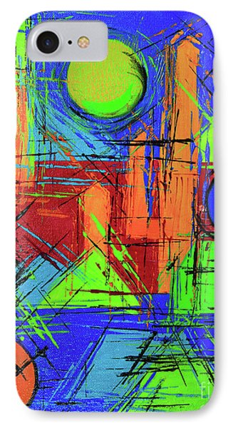 Three Moons IPhone Case by Jeanette French