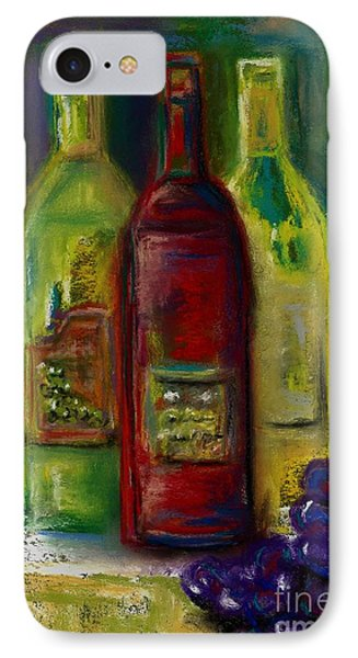 Three More Bottles Of Wine Phone Case by Frances Marino
