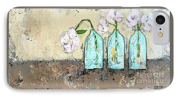 Three Of A Kind IPhone Case by Kirsten Reed