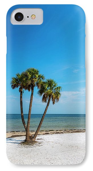 Three Palms IPhone Case