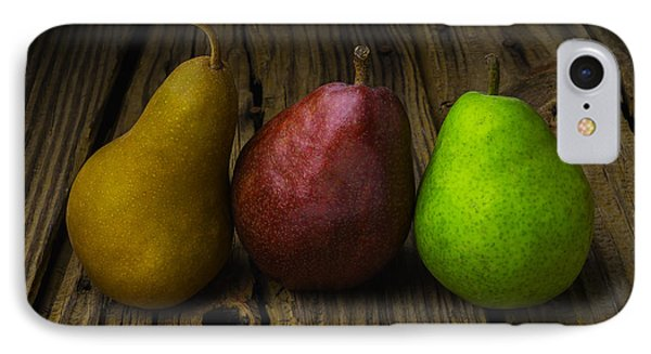 Three Pears IPhone Case by Garry Gay
