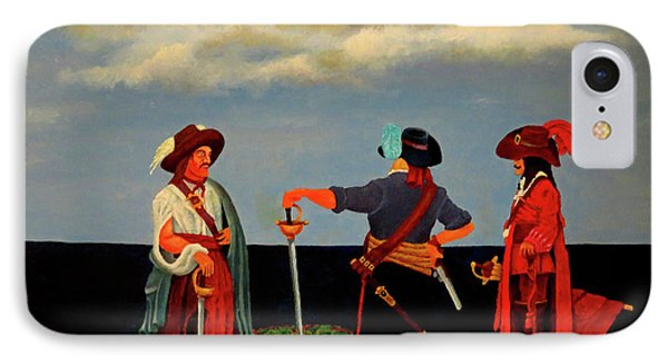 Three Pirates Phone Case by Robert Marquiss