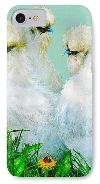 Three Silky Ladies IPhone Case
