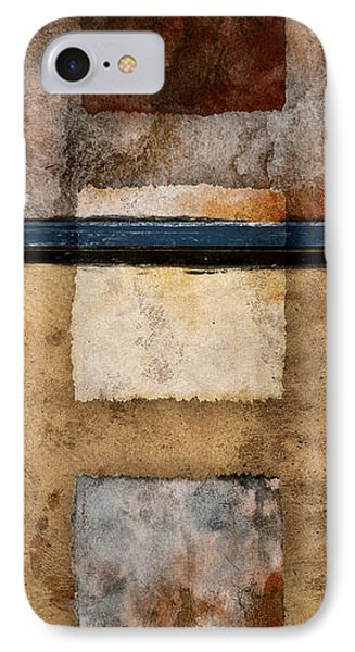 Three Squared Series Of Two IPhone Case by Carol Leigh