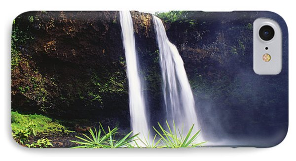 Three Waterfalls Phone Case by Peter French - Printscapes