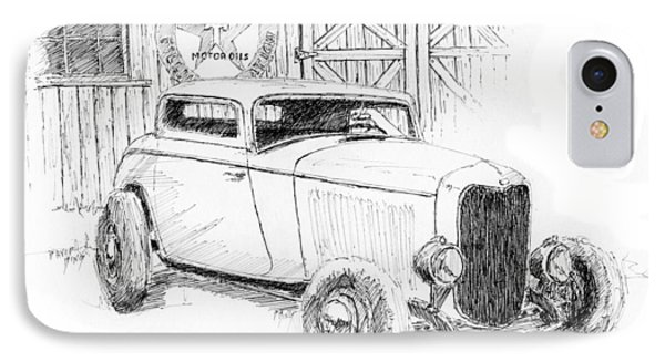 Three Window Coupe IPhone Case by David King
