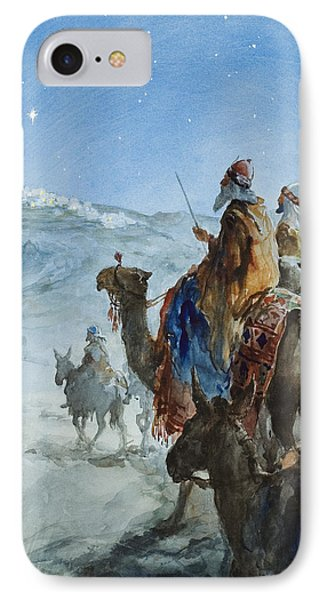 Three Wise Men IPhone Case by Henry Collier