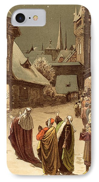 Three Wise Men IPhone Case by Victor Paul Mohn