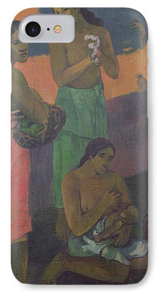 Three Women On The Seashore Phone Case by Paul Gauguin