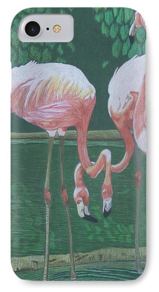Threes A Crowd IPhone Case