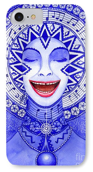 Throat Chakra Phone Case by Catherine G McElroy