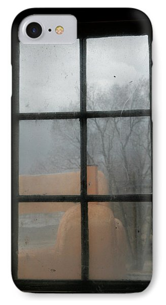 IPhone Case featuring the photograph Through A Museum Window by Marilyn Hunt