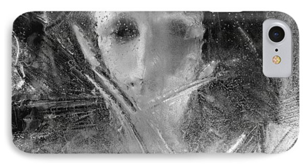Through A Wintry Window Gaze... Thee Or Me? IPhone Case