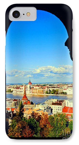 Through An Arch In Budapest Phone Case by Madeline Ellis