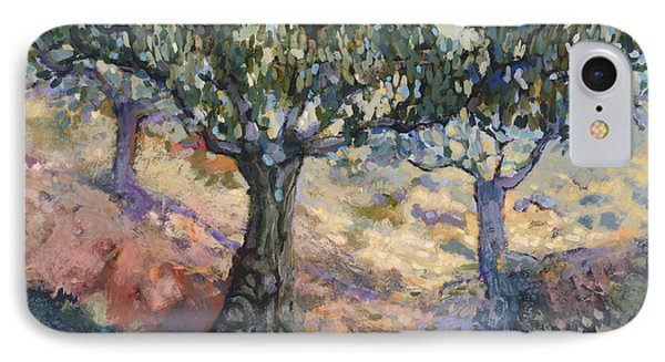 Through Ancient Olives IPhone Case