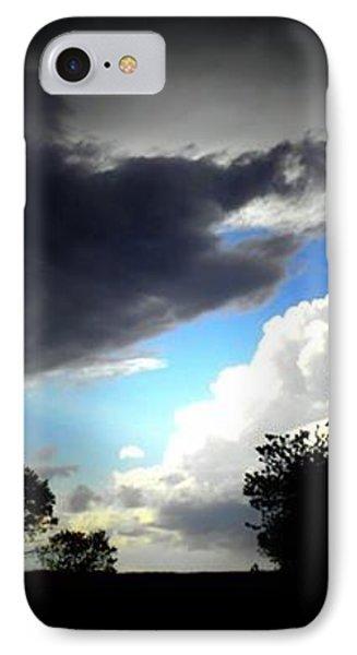 Through God's Window IPhone Case by Sian Lindemann