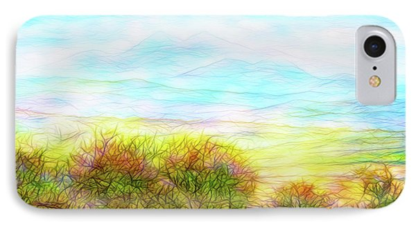Through Mountain Mists IPhone Case by Joel Bruce Wallach