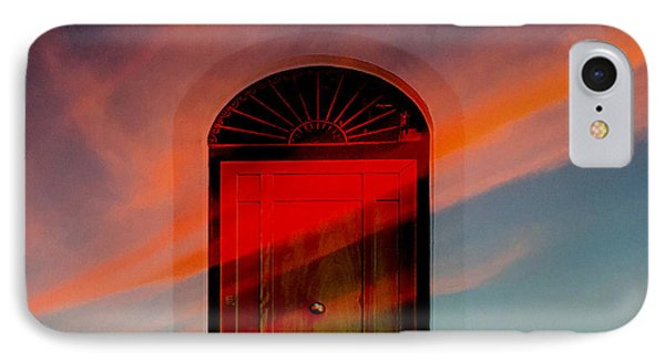 Through The Door IPhone Case