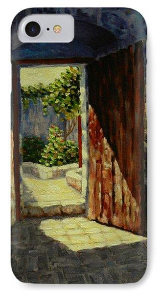 Through The Door IPhone Case