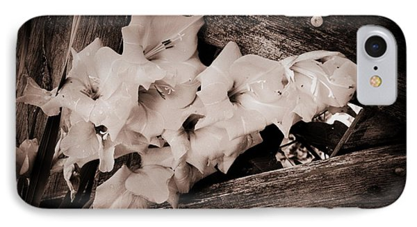 Through The Fence Phone Case by Diane Reed