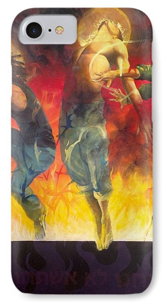Through The Fire IPhone Case by Christopher Marion Thomas