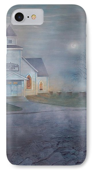 Through The Fog IPhone Case by T Fry-Green