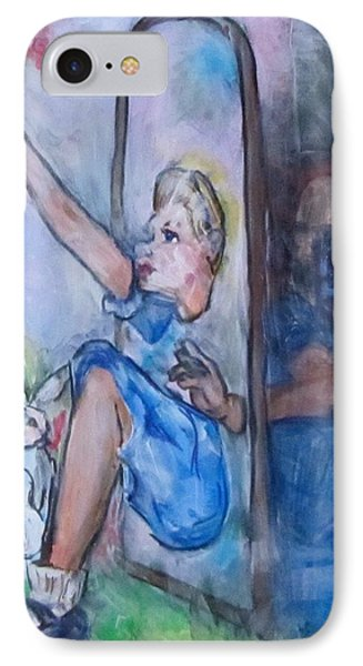 Through The Looking Glass IPhone Case by Barbara O'Toole