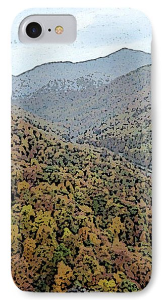 IPhone Case featuring the photograph Through The Mountains by Skyler Tipton