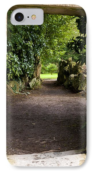 Through The Stone Wall Phone Case by Rae Tucker
