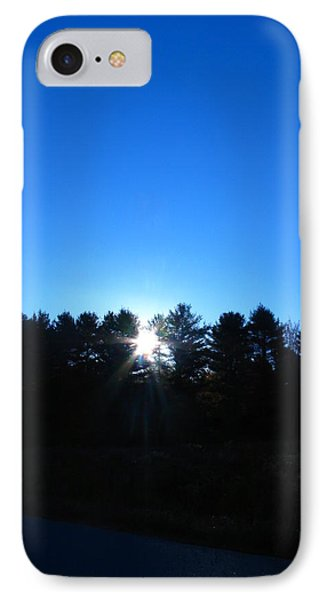 Through The Trees Brightly IPhone Case
