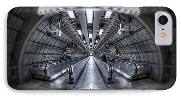 Through The Tunnel IPhone Case by Evelina Kremsdorf