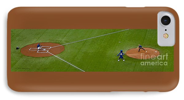 Throwing The First Pitch IPhone Case by Nina Silver