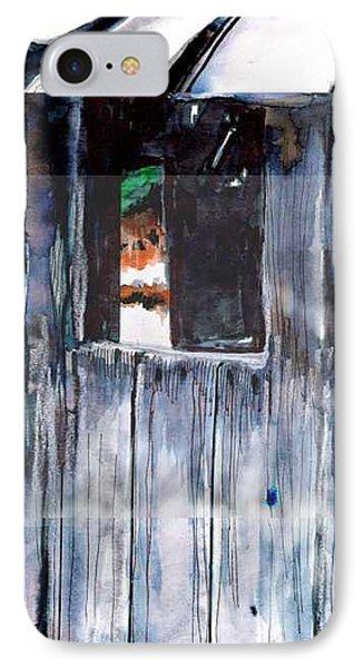Thru The Barn Window Phone Case by Seth Weaver