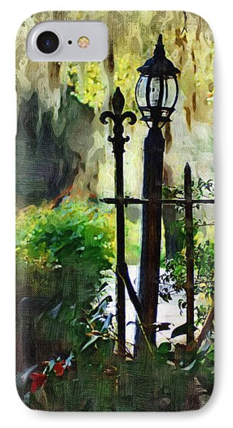 IPhone Case featuring the digital art Thru The Gate by Donna Bentley