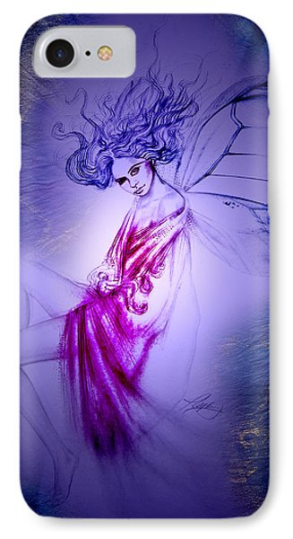 IPhone Case featuring the painting Thumbelina by Ragen Mendenhall