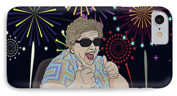 IPhone Case featuring the digital art Thumbs Up by Megan Dirsa-DuBois