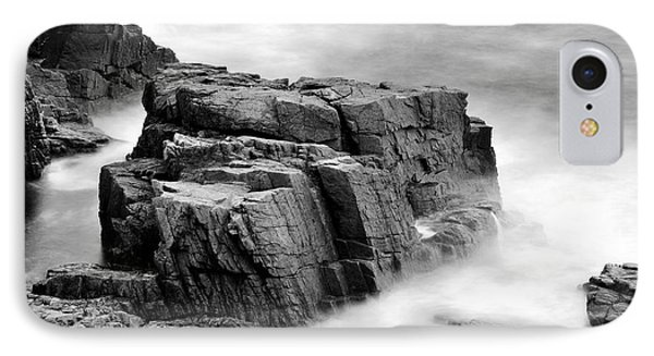 Thunder Along The Acadia Coastline - No 1 Phone Case by Thomas Schoeller