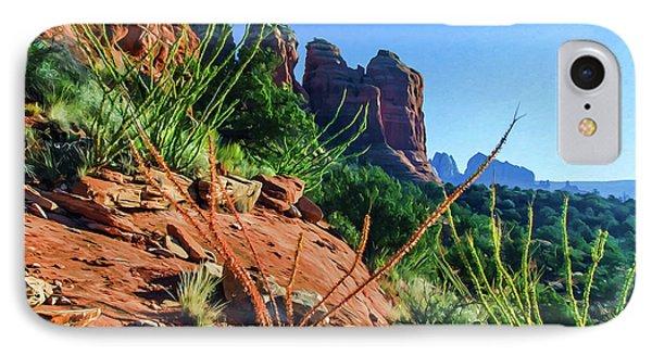 Thunder Mountain 07-006 IPhone Case by Scott McAllister