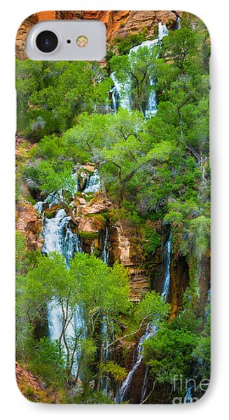 Thunder River Oasis IPhone Case by Inge Johnsson