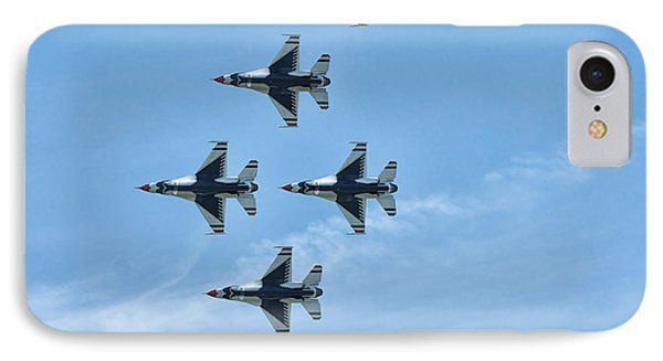 IPhone Case featuring the photograph Thunderbirds by Linda Constant