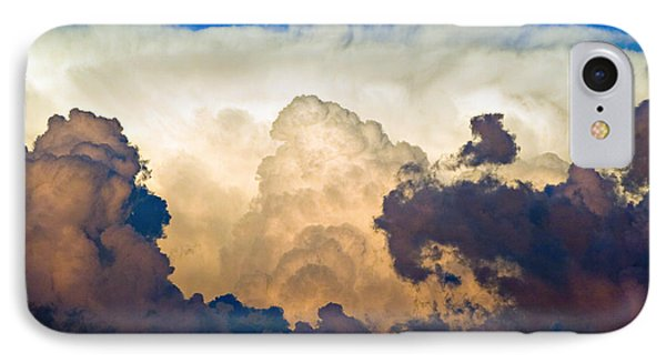 Thunderhead Cloud Color Poster Print Phone Case by James BO  Insogna