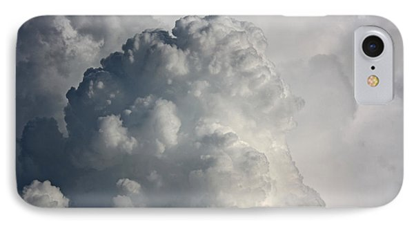 Thunderhead Clouds IPhone Case by Terri Mills