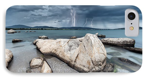 Thunderstorm  IPhone Case by Evgeni Dinev