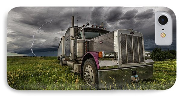 IPhone Case featuring the photograph Thunderstruck by Aaron J Groen
