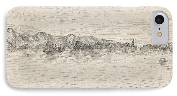 Thunersee Near Schadau IPhone Case by Paul Klee