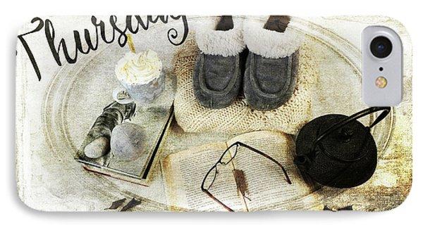 Thursday Shoes IPhone Case by Randi Grace Nilsberg